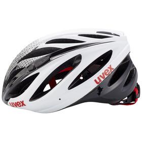 UVEX boss race Cykelhjelm hvid/sort